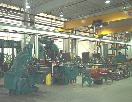 Bay III Machine Shop