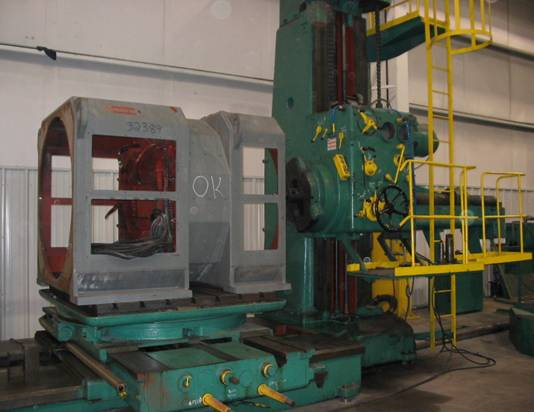 10-Foot Horizontal Boring Mill